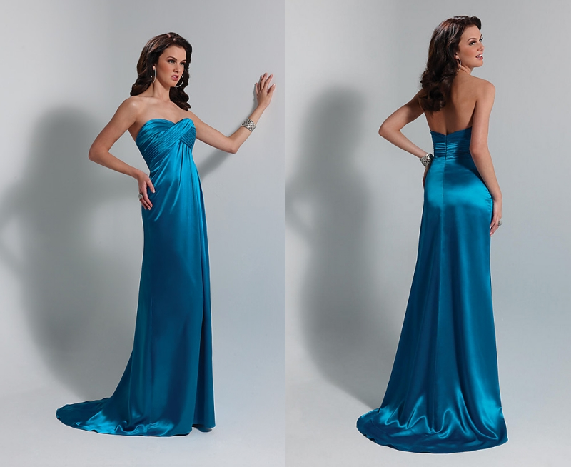 Teal Blue Long Prom Dresses Off Shoulder Prom Gowns Evening Dresses ...